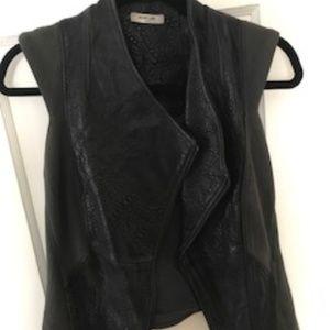 Helmut Lang Leather Vest